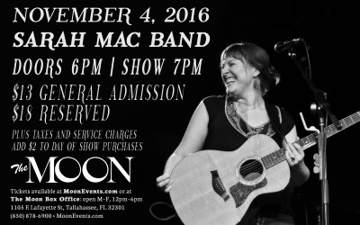 Sarah Mac Band at The Moon