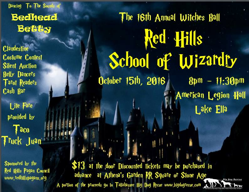 RHPC Witches Charity Call - Costume presented by RHPC - Tallahassee