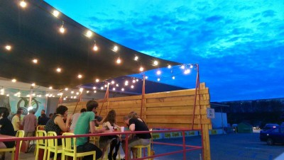 The Patio@Garages on Gaines