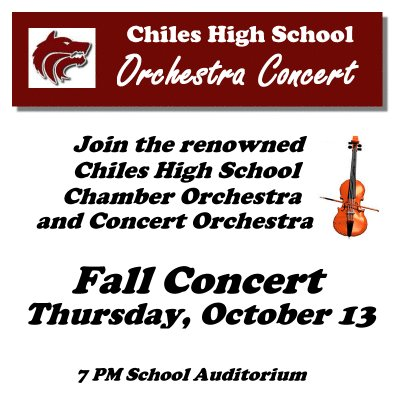 Lawton Chiles High School Fall Orchestra Concert