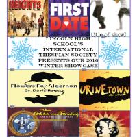 International Thespians Society Winter Showcase