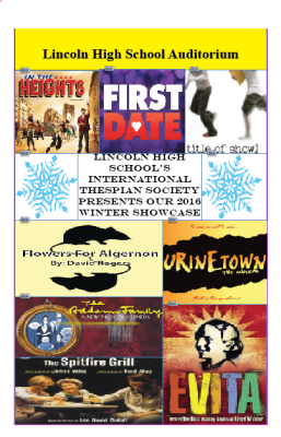 International Thespians Society Winter Showcase