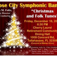 Rose City Symphonic Band Concert: Christmas and Folk Tunes