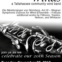 Tallahassee Winds - November Concert