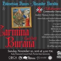 The Tallahassee Community Chorus Presents: O Fortuna!