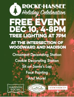 Holiday Tree Lighting Festival
