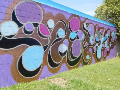 Swirls Mural