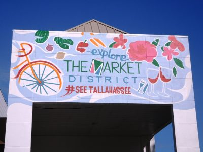 Explore the Market District Mural