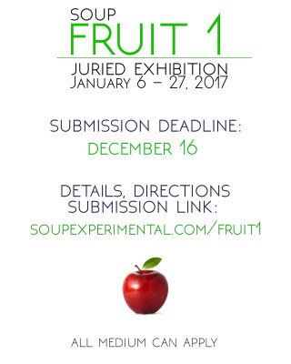 FRUIT 1 Juried Exhibition