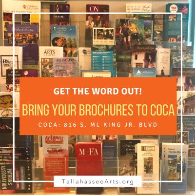 Bring Your Brochures to COCA!