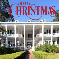 Christmas at Pebble Hill Plantation
