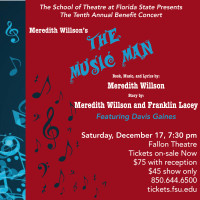 The Music Man - FSU's 10th Annual Benefit Concert