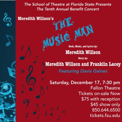 The Music Man - FSU's 10th Annual Benefit Concert