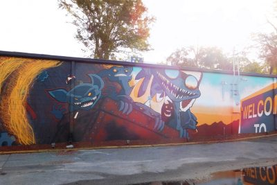 The Wilbury Mural