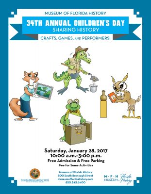 34th Annual Children's Day by the Museum of Florida History