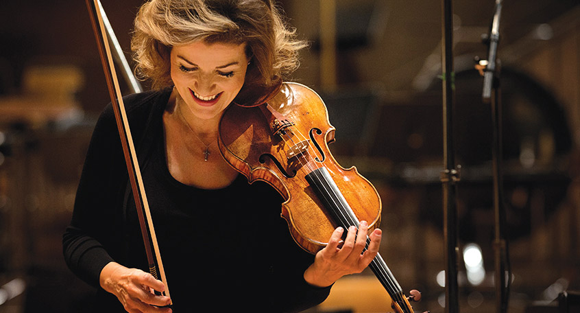 Anne Sophie Mutter Violin With Lambert Orkis Piano