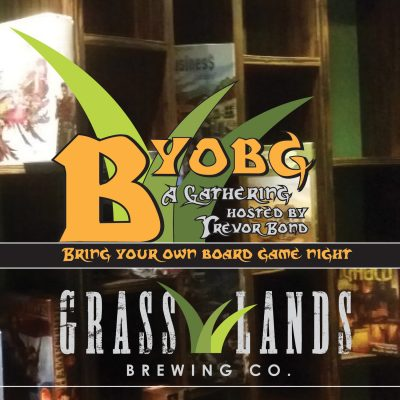 Bring Your Own Board Game Night at GrassLands Brew...
