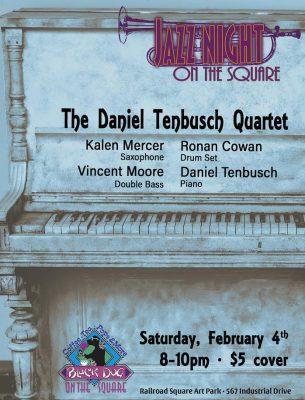Jazz on the Square featuring the Daniel Tenbusch Quartet