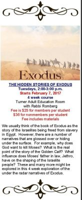 The Hidden Stories of Exodus