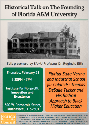 Founding of FAMU Historical Talk