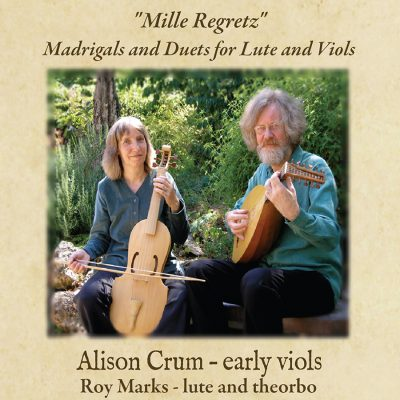 Guest Artist Recital - Alison Crum, Viola da Gamba and Roy Marks, Theorbo