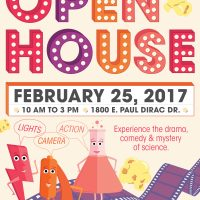 MagLab Open House 2017: Science and the Movies!