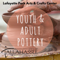 Youth & Adult Pottery Classes at Lafayette Park Arts and Crafts Center