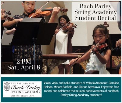 Bach Parley String Academy Student Recital