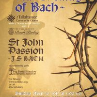 "Tallahassee Community Chorus Presents ""An Evening of Bach"""