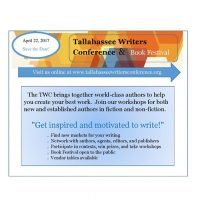 Tallahassee Writers Conference 2017