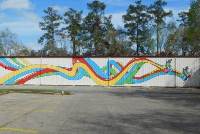Skate World Mural