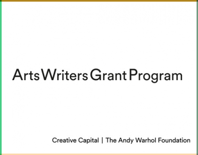 Arts Writers Grant Program