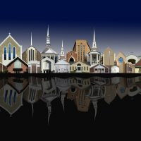 """""""Cityscapes and Other Images"""" by Donato (Danny) Pietrodangelo at Jefferson Arts Gallery"""