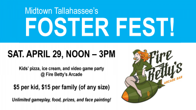 Foster Fest - Kids Pizza and Video Game Party