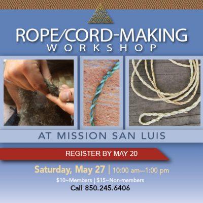 Rope/Cord-Making Workshop