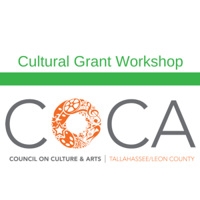 FY18 Cultural Grant Workshop: Organizational Plan, Supplementary Materials