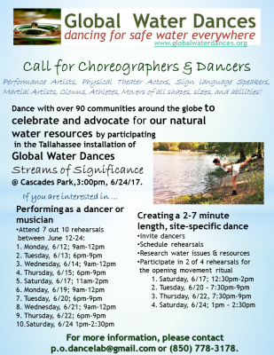 Call for Dancers and Choreographers - Global Water Dances
