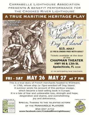 1766: Shipwrecked on Dog Island, A Maritime Heritage play