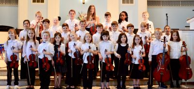 Da Capo Strings - Tallahassee Homeschool String Orchestra