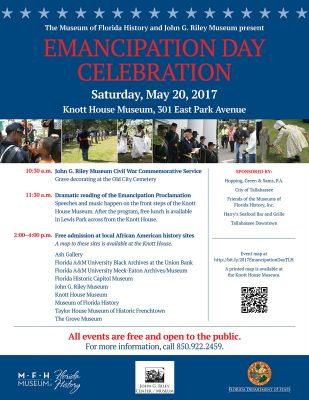 Emancipation Day Celebration at the Knott House Museum