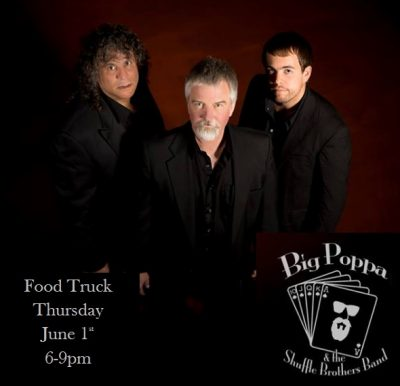Food Truck Thursday with Big Poppa & The Shuffle Brothers