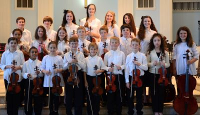 Sinfonia Allegro - Tallahassee Homeschool String Orchestra