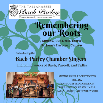 """Tallahassee Bach Parley """"Remembering Our Roots"""""""