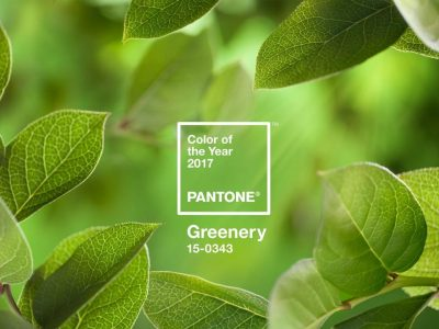 Pantone Color of the Year – Greenery