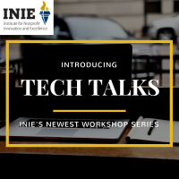 Tech Talks-INIE's new workshop series