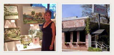 Debra Brienen Art Exhibit at Cypress Restaurant
