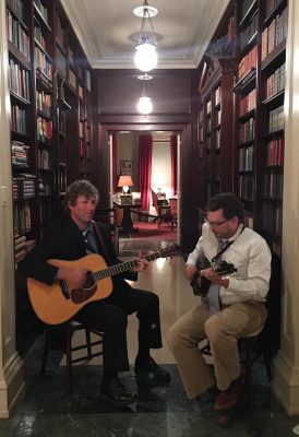 Mickey Abraham & Kevin Robertson