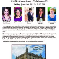 Opera in Cuba - Benefit Concert June 16th at 7 PM