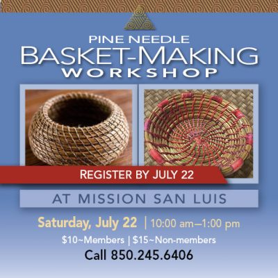 Pine Needle Basket-Making Workshop