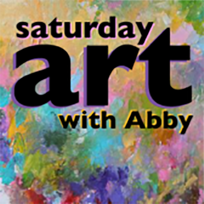 Saturday Art with Abby at You're Maker: Sunshine and Rainbows